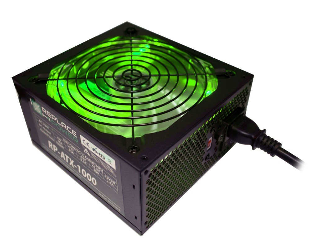 Replace Power 1000w Supply Green 5399 Dell Wiring Diagram Add Review For Replacepower Atx