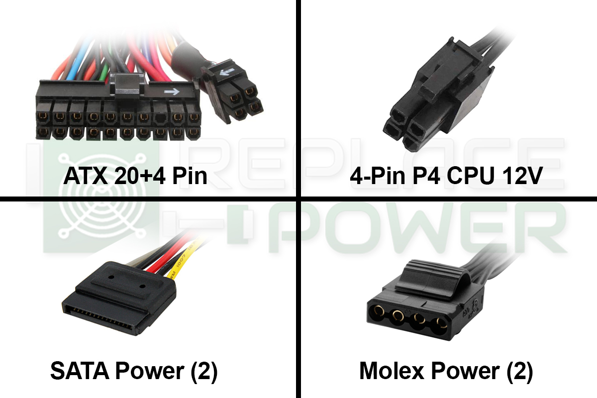Replacepower 420w Itx Tfx Power Supply Sale 2979 Replacement 12volt Dc Plug Optronics Accessories And Parts A Picture 2