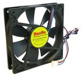 Rexflo DF1212025BH-PWMG 120mm Case Fan w/ 4 Pin Plug and PWM Function