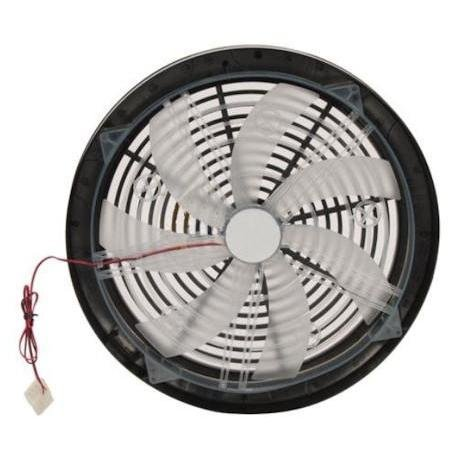 Rexus Blue 360mm Silent Blue LED Lighted Case Fan with 4pin Power