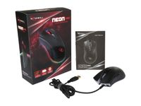 Rosewill 12000DPI RGB Backlit Optical Wired Gaming Mouse NEON 60