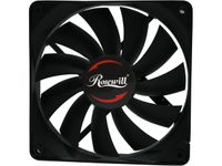 Rosewill RAWP-141209v2 120mm Computer Case Cooling Fan - Seal IP56 Dust Resistant Splash Proof with Pulse Width Modulation (PWM)