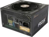 Seasonic FOCUS Plus Series SSR-550FX 550W 80 Gold Intel ATX 12V Full Modular 120mm FDB Fan Compact 140 mm Size Power Supply