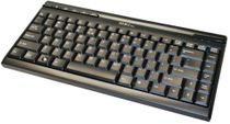 SIIG JK-US0312-S1 USB Mini Computer Keyboard (Black)