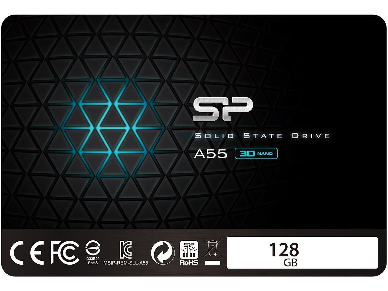 Silicon Power Ace A55 128gb Sata Iii Ssd 2588 Baterai Aa Maxell Super Red Su128gbss3a55s25ae Picture 2