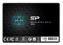 "Silicon Power SP120GBSS3S55S25AC Slim S55 2.5"" 120GB SATA III Internal Solid State Drive (SSD)"