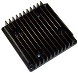Swiftech MCP35X-HS Black Anodized Aluminum Extrusion Heatsink for MCP35XX Series Water Pumps