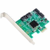 Syba Marvell 88SE9215 SATA III Controller Card with 4-Port