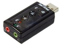Syba Virtual 7.1ch USB Sound Card with Mute & Volume