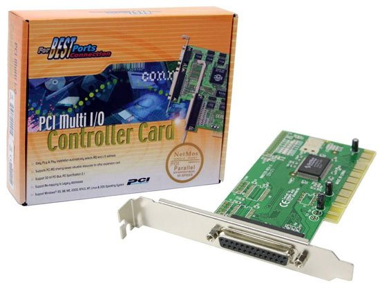 Add Review For Syba Netmos 9805 PCI To Parallel Port Controller Card