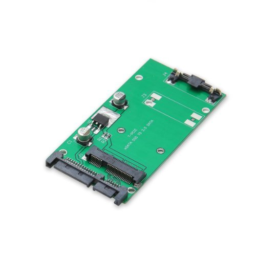 "S101 Model mSATA SSD To 2.5/"" SATA Adapter Converter Card IDE HDD For Laptop"
