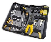 Syba 58-Piece Tool Kit for Electricians, PC Technicians