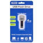 Tech Universe TU1517 4GB Key Shaped USB 2.0 Flash Drive