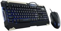 THERMALTAKE KB-CMC-PLBLUS-01 COMMANDER Combo Gaming Keyboard and Mouse Blue Light