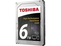Toshiba X300 6TB Performance Desktop and Gaming Hard Drive 7200 RPM 128MB Cache HDWE160XZSTA