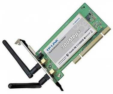 TP-Link TL-WN851ND 300Mbps Wireless-N PCI Network Adapter