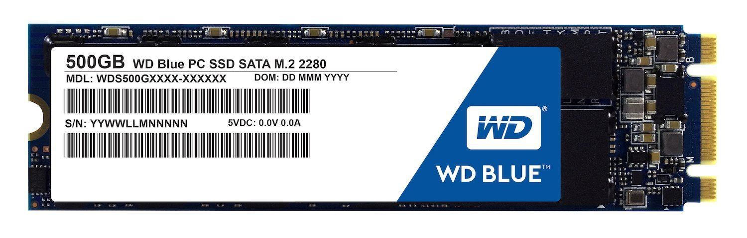 Click to Enlarge WD Blue M2 500GB