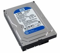 Western Digital WD10EZEX 1TB Blue 7200RPM SATA 6.0Gb/s 3.5inch Hard Drive