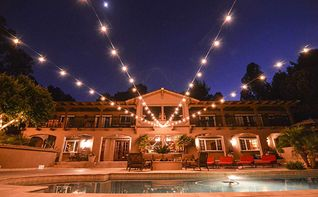 28 Ft Ul Listed 25 Socket Outdoor White Patio String Light