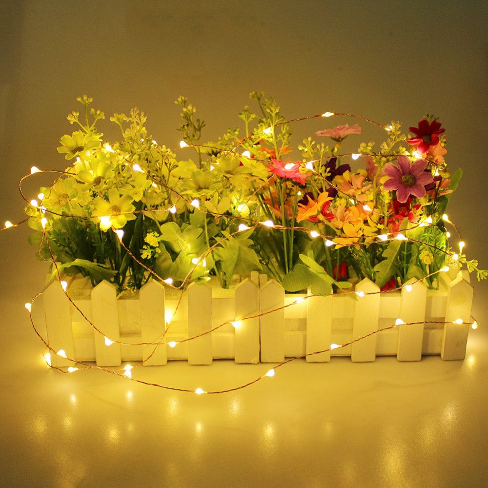 33 Ft 100 Warm White Led Waterproof Micro Fairy String