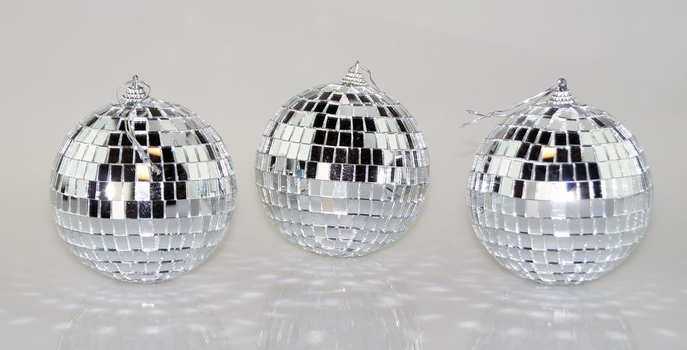 4 Inch Disco Ball Party Pack