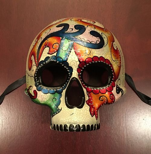 Abstract Day Of The Dead  Mask