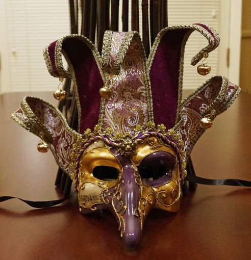 Alberto Jester Mask Purple