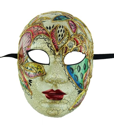 Angelica Masquerade Face Mask