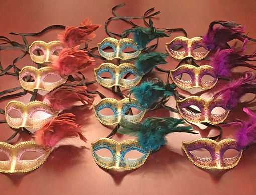 Angelina Masquerade Eye Masks Party Pack