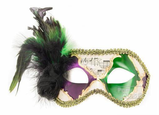 Angelina Mardi Gras Eye Mask