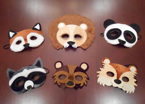 Animal Mask Party Pack