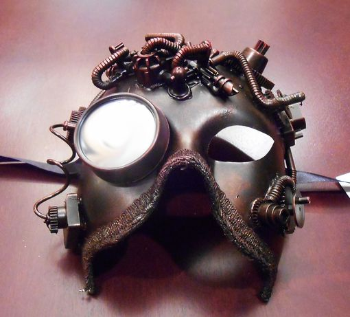 Arco Steam Punk Mask Copper