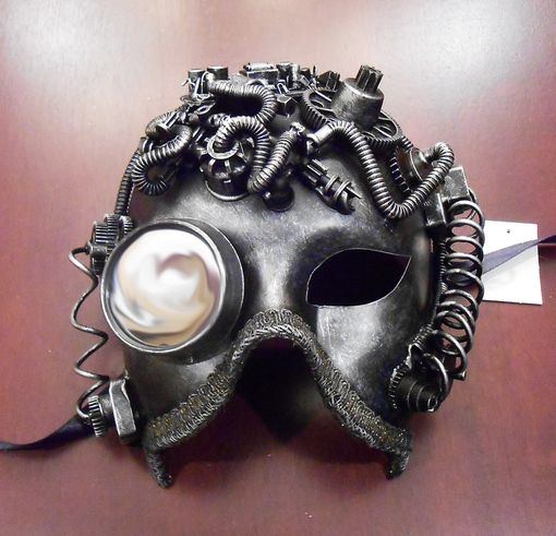 Arco Steam Punk Mask Silver