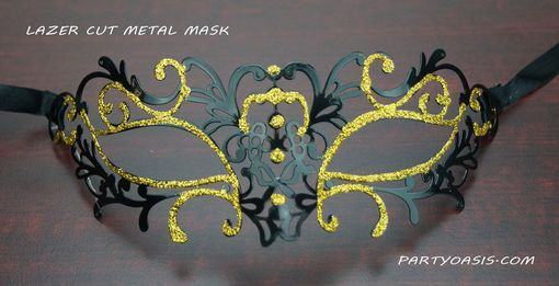 Bali Metal Masquerade Eye Mask