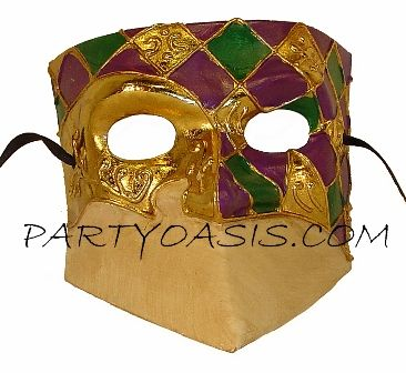 Balto Men's Masquerade Mask