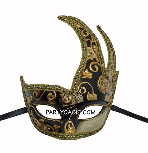 Baroque Venetian Eye Masquerade Mask