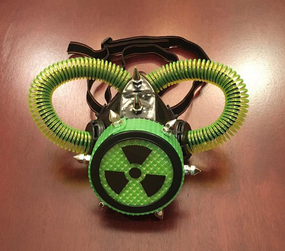 Bio Hazard Green Gas Mask