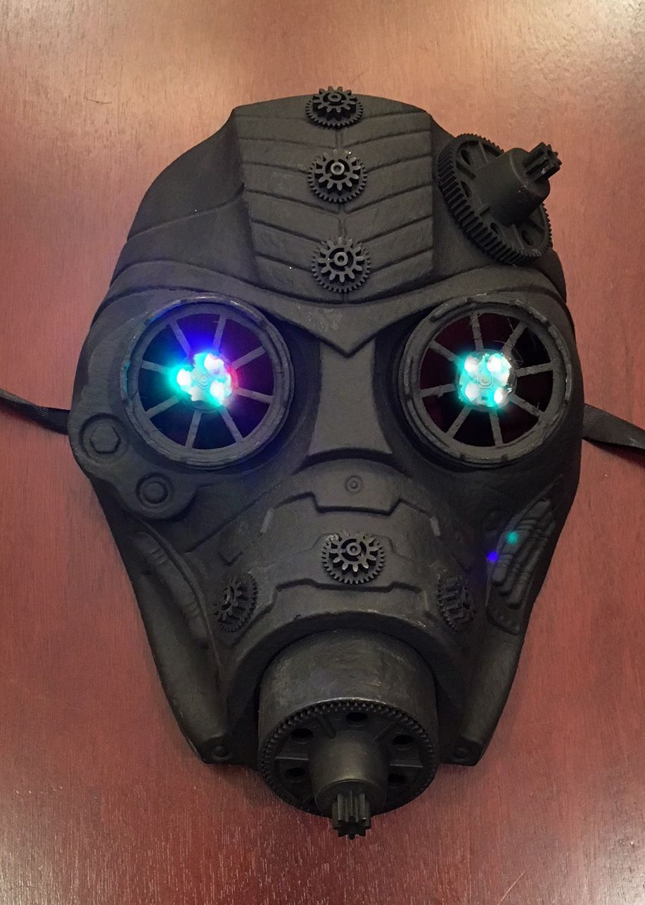 Black Out Gas Mask