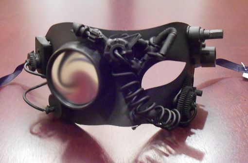 Black Out Steam Punk Mask