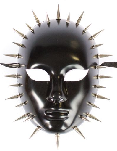 Black Spike Mask
