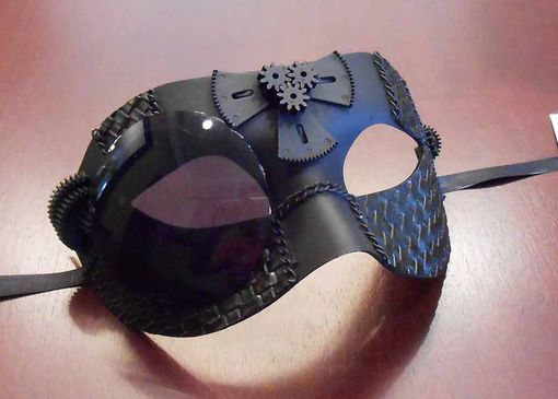 Black Steam Punk Mask