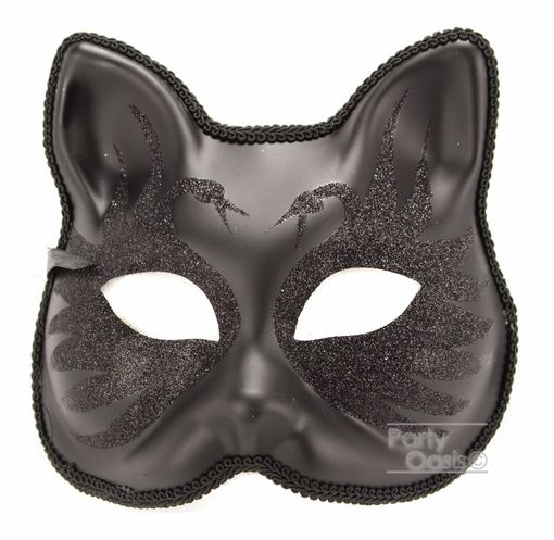 Black Swan Cat Mask
