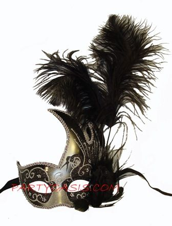 Black Swan Feather Mask
