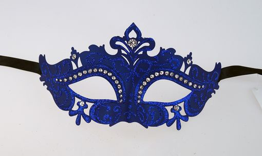 Juliet Blue Masquerade Mask