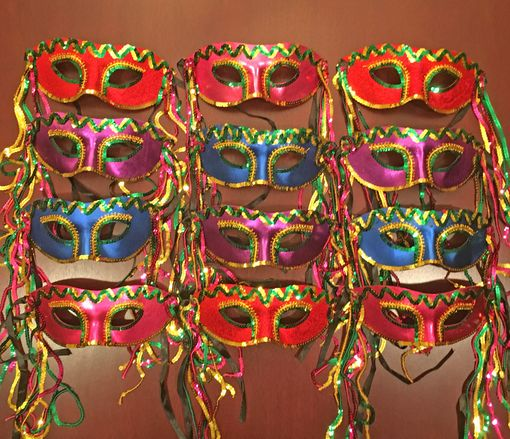 Bourbon Street Masquerade Mask Party Pack