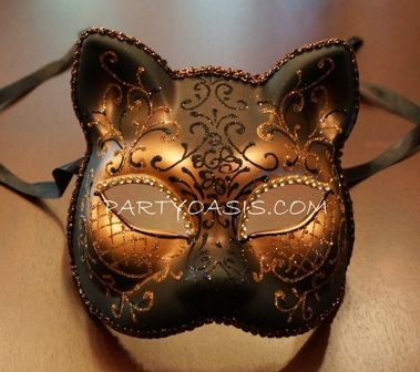 Bronze Cat Mask