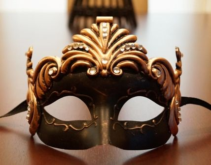 Bronze Venetian Goddess Mask