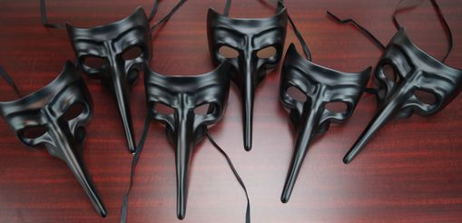 Bulk Men's Masquerade Mask Set