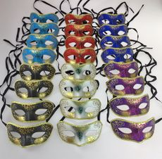 Bulk Venetian Masquerade Party Masks