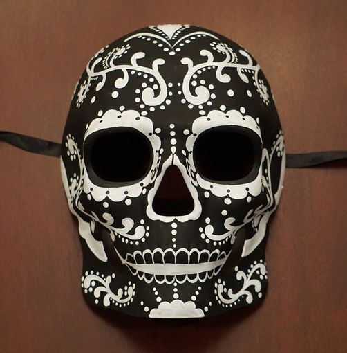 Cabello Day Of The Dead Mask